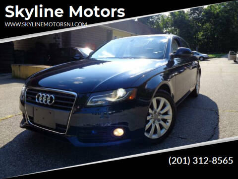 2009 Audi A4 for sale at Skyline Motors in Ringwood NJ