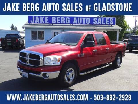 2007 Dodge Ram Pickup 2500 for sale at Jake Berg Auto Sales in Gladstone OR