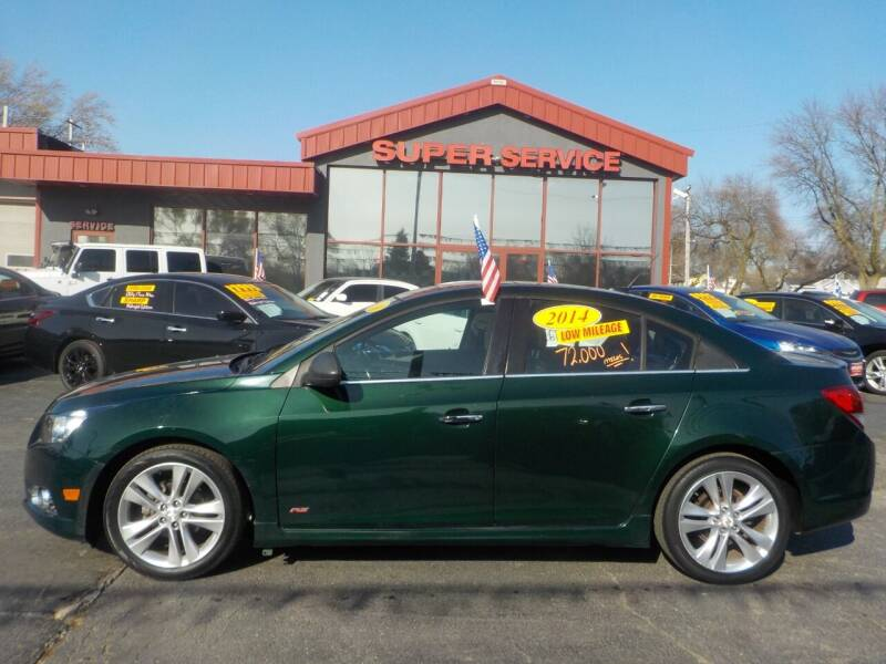 2014 Chevrolet Cruze for sale at Super Service Used Cars in Milwaukee WI