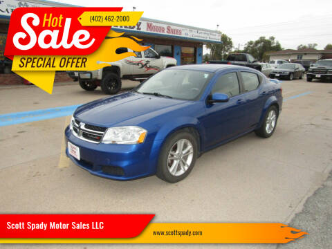 2012 Dodge Avenger for sale at Scott Spady Motor Sales LLC in Hastings NE