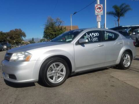 2012 Dodge Avenger for sale at Olympic Motors in Los Angeles CA