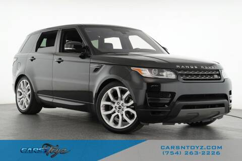 2016 Land Rover Range Rover Sport for sale at JumboAutoGroup.com - Carsntoyz.com in Hollywood FL