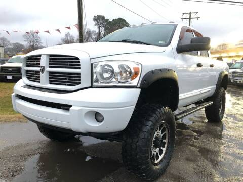 2007 Dodge Ram Pickup 2500 for sale at Mega Autosports in Chesapeake VA