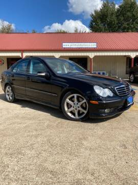 2007 Mercedes-Benz C-Class for sale at PITTMAN MOTOR CO in Lindale TX
