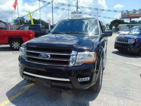 2017 Ford Expedition EL for sale at Payday Motor Sales in Lakeland FL