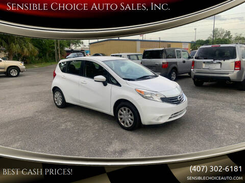 2016 Nissan Versa Note for sale at Sensible Choice Auto Sales, Inc. in Longwood FL