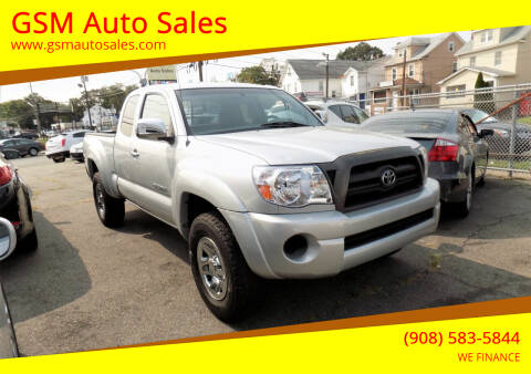 2006 Toyota Tacoma for sale at GSM Auto Sales in Linden NJ