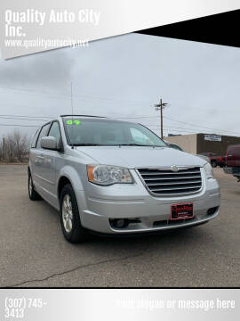 2009 Chrysler Town and Country for sale at Quality Auto City Inc. in Laramie WY