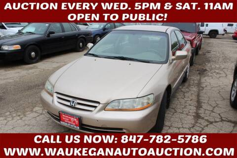 2001 Honda Accord for sale at Waukegan Auto Auction in Waukegan IL