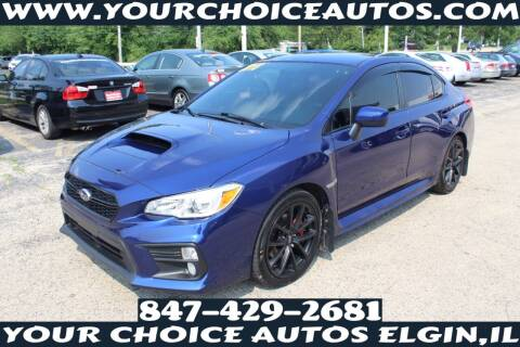2018 Subaru WRX for sale at Your Choice Autos - Elgin in Elgin IL