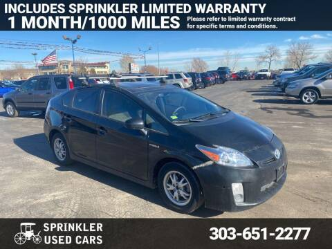 2011 Toyota Prius for sale at Sprinkler Used Cars in Longmont CO