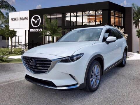 2021 Mazda CX-9 for sale at Mazda of North Miami in Miami FL
