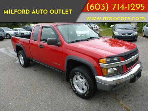2004 Chevrolet Colorado for sale at Milford Auto Outlet in Milford NH