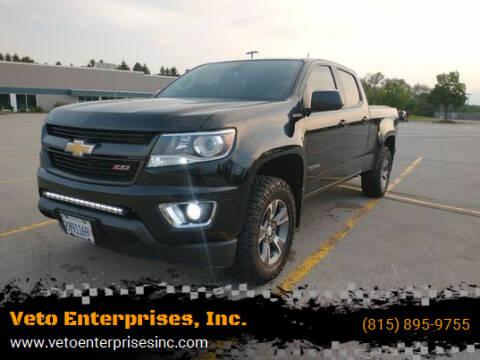 2016 Chevrolet Colorado for sale at Veto Enterprises, Inc. in Sycamore IL