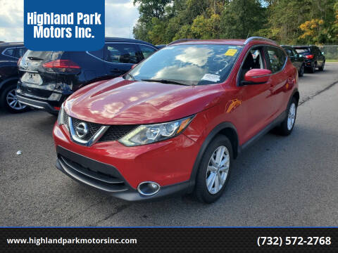 2017 Nissan Rogue Sport for sale at Highland Park Motors Inc. in Highland Park NJ