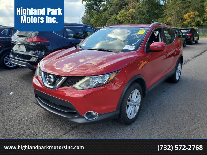 2017 Nissan Rogue Sport for sale at Highland Park Motors Inc. in Highland Park NJ