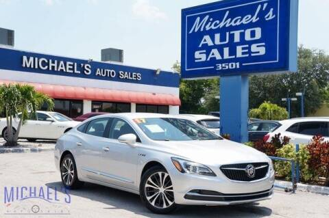 2017 Buick LaCrosse for sale at Michael's Auto Sales Corp in Hollywood FL