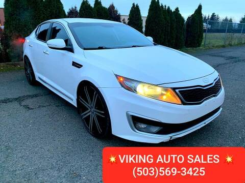 2011 Kia Optima Hybrid for sale at VIking Auto Sales LLC in Salem OR