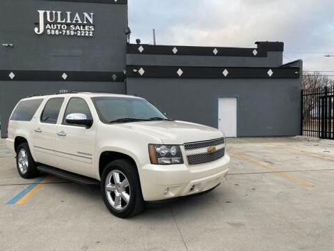 2013 Chevrolet Suburban for sale at Julian Auto Sales, Inc. in Warren MI