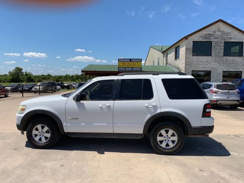 2007 Ford Explorer for sale at Driver's Choice in Sherman TX