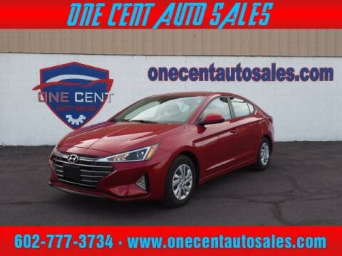 2020 Hyundai Elantra for sale at One Cent Auto Sales in Glendale AZ