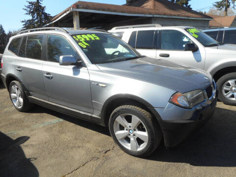 2004 BMW X3 for sale at Lino's Autos Inc in Vancouver WA