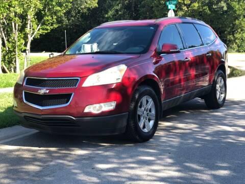 2012 Chevrolet Traverse for sale at L G AUTO SALES in Boynton Beach FL