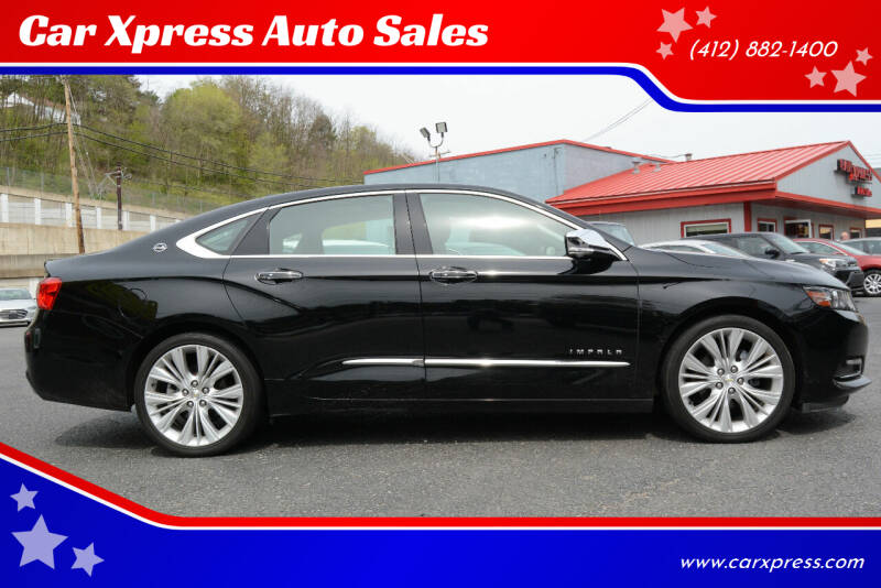 2014 Chevrolet Impala for sale at Car Xpress Auto Sales in Pittsburgh PA