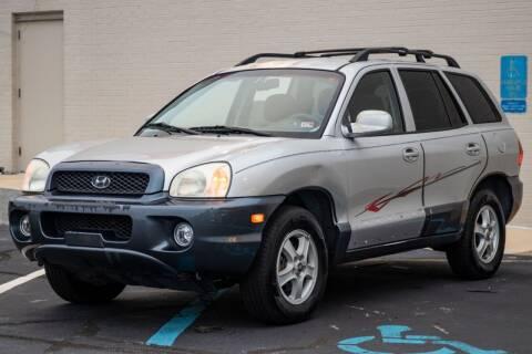 2004 Hyundai Santa Fe for sale at Carland Auto Sales INC. in Portsmouth VA