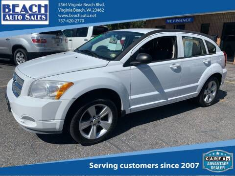 2011 Dodge Caliber for sale at Beach Auto Sales in Virginia Beach VA