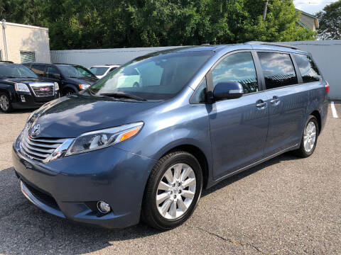 2015 Toyota Sienna for sale at SKY AUTO SALES in Detroit MI