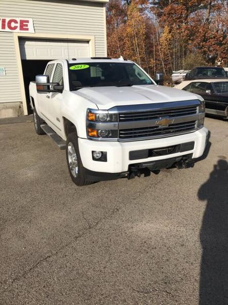 2017 Chevrolet Silverado 2500HD 4x4 High Country 4dr Crew Cab LB - Brentwood NH