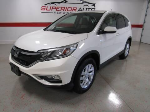 2015 Honda CR-V for sale at Superior Auto Sales in New Windsor NY