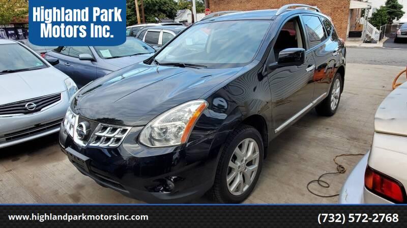 2013 Nissan Rogue for sale at Highland Park Motors Inc. in Highland Park NJ