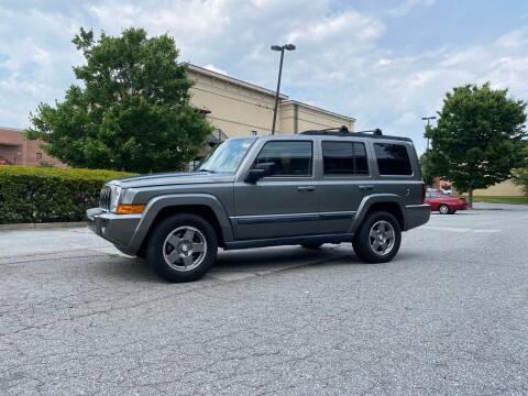 2007 Jeep Commander for sale at GTO United Auto Sales LLC in Lawrenceville GA