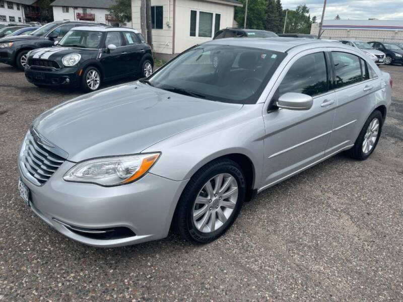 2012 Chrysler 200 for sale at CHRISTIAN AUTO SALES in Anoka MN