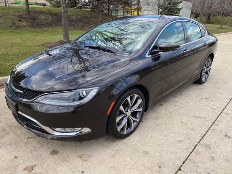 2015 Chrysler 200 for sale at Western Star Auto Sales in Chicago IL