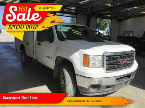 2011 GMC Sierra 2500HD for sale at Government Fleet Sales in Kansas City MO