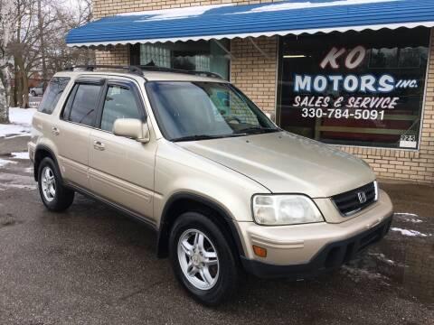 2000 Honda CR-V for sale at K O Motors in Akron OH