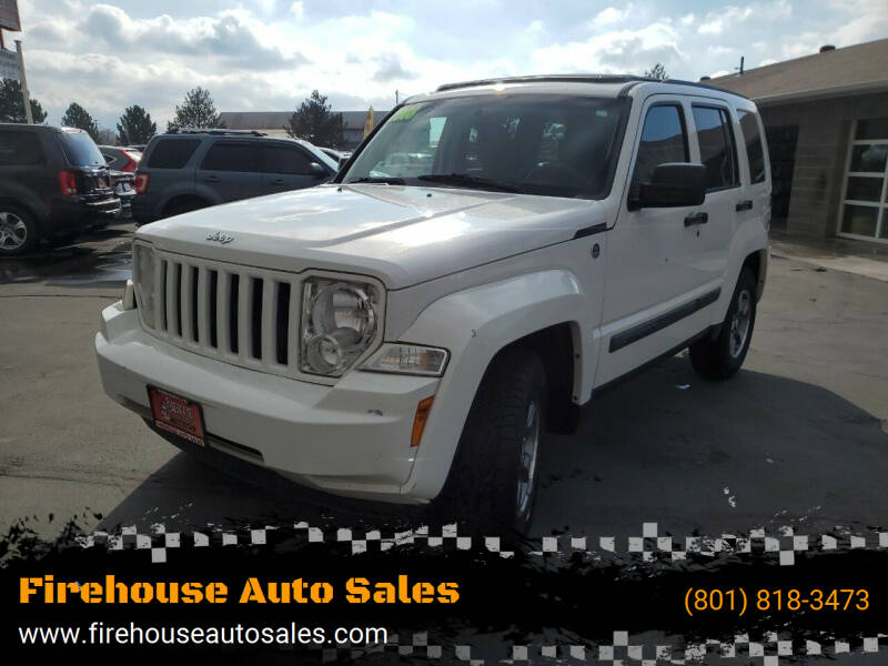 2008 Jeep Liberty for sale at Firehouse Auto Sales in Springville UT