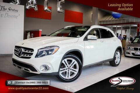 2018 Mercedes-Benz GLA for sale at Quality Auto Center of Springfield in Springfield NJ