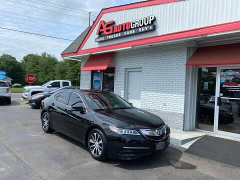 2015 Acura TLX for sale at AG AUTOGROUP in Vineland NJ