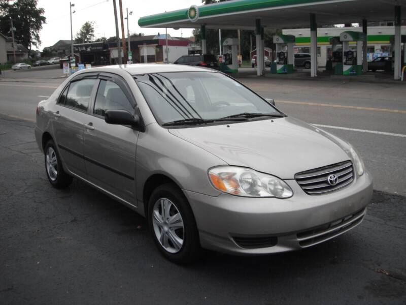 2003 Toyota Corolla for sale at Collector Car Co in Zanesville OH