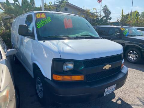 2006 Chevrolet Express Cargo for sale at North County Auto in Oceanside CA