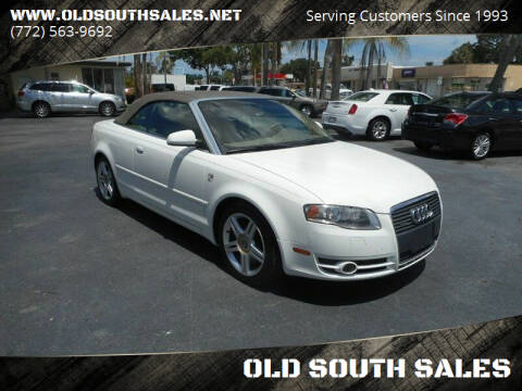 2007 Audi A4 for sale at OLD SOUTH SALES in Vero Beach FL