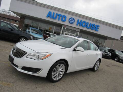 2015 Buick Regal for sale at Auto House Motors in Downers Grove IL