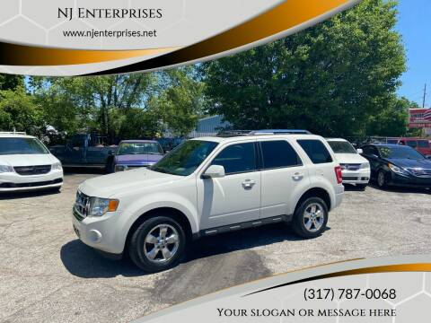 2010 Ford Escape for sale at NJ Enterprises in Indianapolis IN