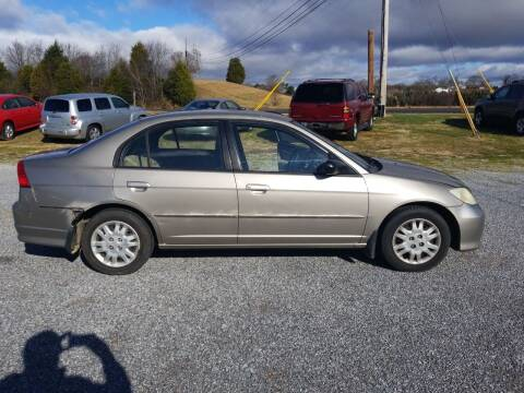2004 Honda Civic for sale at CAR-MART AUTO SALES in Maryville TN