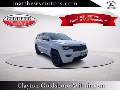 2018 Jeep Grand Cherokee for sale at Auto Finance of Raleigh in Raleigh NC