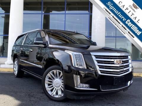 2016 Cadillac Escalade ESV for sale at Capital Cadillac of Atlanta in Smyrna GA